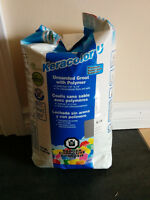 New Bag!! Pearl Gray Keracolor-U Mapei Premium Unsanded GROUT