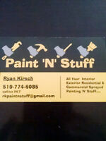 PROFESSIONAL PAINTING-starting@$0.75sq.ft)