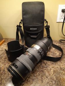 ** NEW **NIKON AF-S 70-200mm F/2.8 IF ED VR Lens
