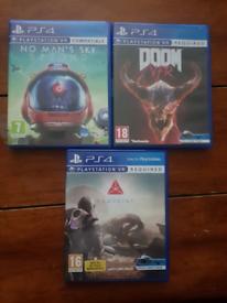 3 PSVR games