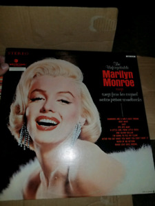 Marilyn Monroe record collection