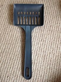 Dark grey Cat litter scoop