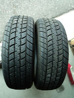 (2) 215/70R16 MOTOMASTER TOTAL TERRAIN A/P M+S (New Condition)