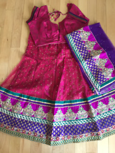 Indian Chaniya Choli for Garba