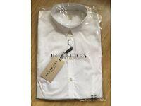 Burberry Ladies White Shirt