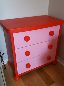 Ikea toddler bed and dresser