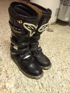 Alpinestar Tech 6 Size 10 MX Boots