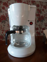 coffee maker and electric knife