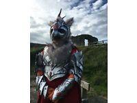 Bird of prey furry costume