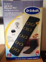 Dr Scholl's Ten Motor Full Body Massage Mat
