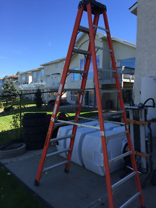 Brand new 10' Industrial Extra Heavy-Duty Fibreglass Step ladder