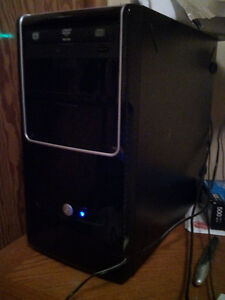 Custom Build Gamer Desktop Tower PC 3.33ghz 4gb ram 160gb win7