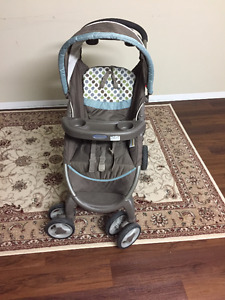 Graco Stroller, infant car seat, with carrier.