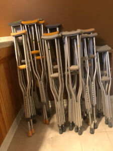 Aluminum Crutches for sale