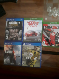 Ps4 games and xbox games