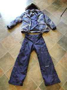 Columbia snowsuit girls size 7/8