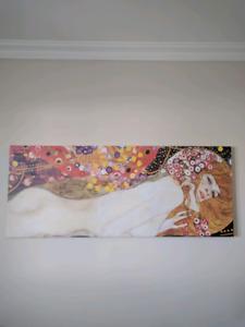Gustav Klimt water serpent painting