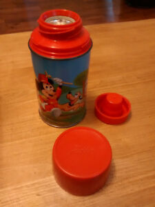 Thermos Vintage 1960 rétro Mickey Mouse
