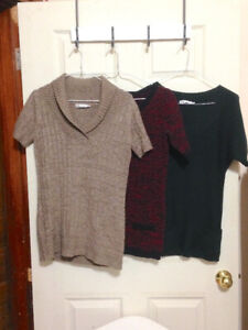[Lot of 3]  Tunic-style Sweaters for Sale (sizes: XS & S)