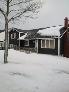 Directly across the road from MUN 4 bedroom appartment