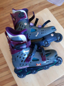 Rollerblades size 9 -9 1/2 womens