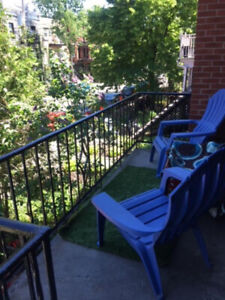 LARGE BRIGHT, CLEAN 5 ½ APARTMENT FOR RENT IN HEART OF MILE END.