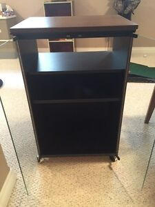 Four drawer two-door stereo stand. Strathcona County Edmonton Area image 1