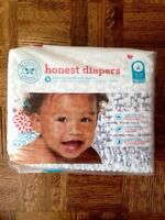 Honest diapers size 4 & 5