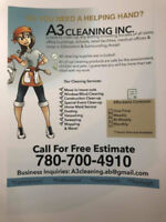Construction Clean up/New construction