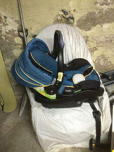 Eddie Bauer Baby Car Seat and Base