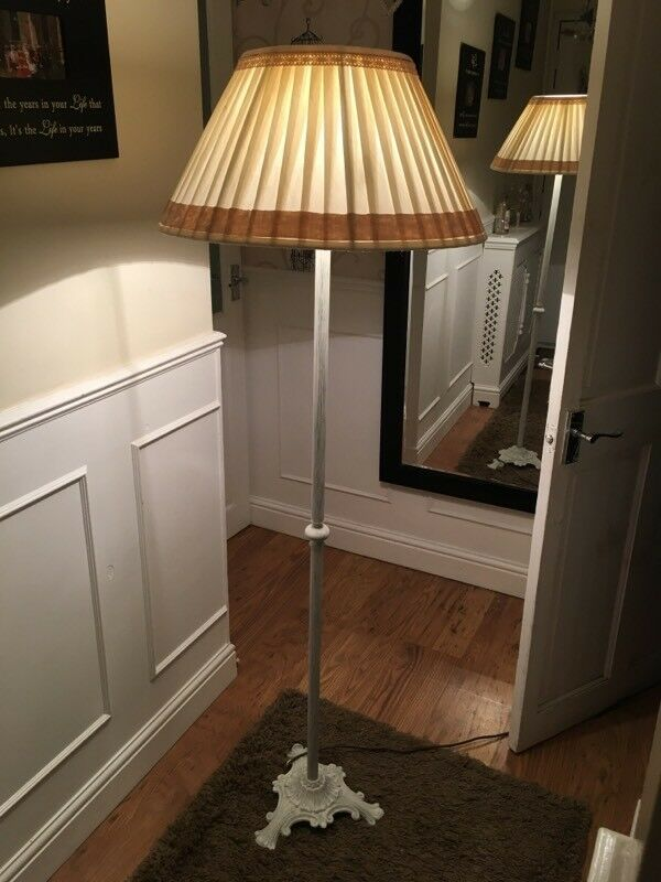 Shabby Chic Ornate Standard Lamp Fully Work 30 B On Avon In Bradford Wiltshire Gumtree