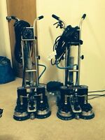 Rotovac DHX carpet cleaning (2 unit)