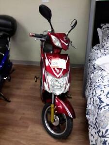 *** USED ***  RED HAMILTON EBIKE   S/N:0300000117   #STORE548