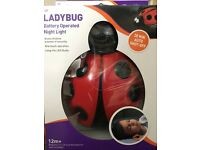 Dreambaby ladybug battery operated night light - new in box