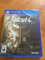 Fallout 4 ps4 brand new still in wrapper.