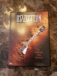 Three Live Led Zeppelin DVDs