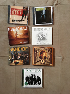 Collection complète de Flogging Molly + best of de The Pogues