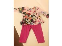 Ted baker girls outfit 3-6 months