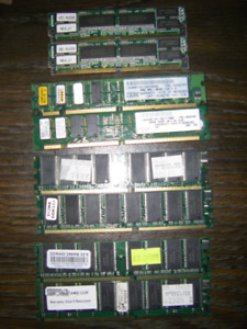 Assortment Of Ram