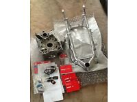Ducati 1098 frame engine cases and ignition