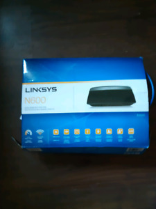 Linksys N600 (model E2500) dual band wifi router