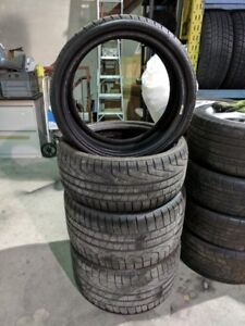 """19"""" PIRELLI WINTER TIRES - 235/35/19 AND 295/30/19 - (85%)"""