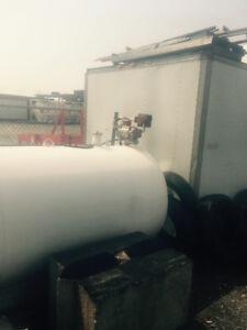 1000 gallon fuel tank