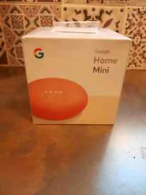 Google home mini. NEW in box upopened