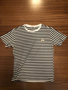Moncler - Black and White Stripe Shirt - XL - Fits like Medium