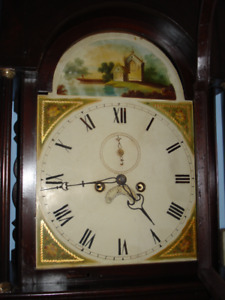 English Grandfather Clock- Warranty and Delivery/setup