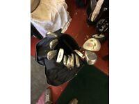 Golf Clubs and bag £20 ono
