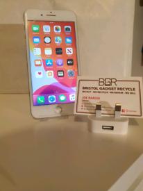 Apple iPhone 7 Plus Silver 32GB + 100% Battery + 1-Month Warranty