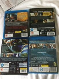 Blu-rays A Knights Tale ~ American Hustle ~Angels and Demons ~ Avatar A