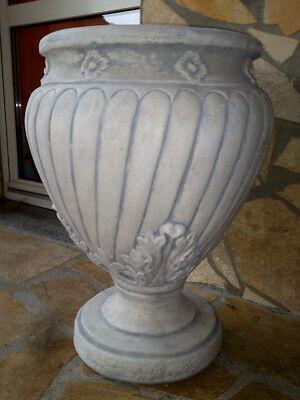Pflanzschalen, Pflanztrog, Blumenkübel H. 60 cm Skulpturen Steinguss, Gartendeko